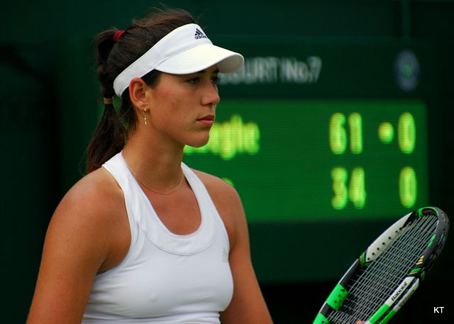 Garbine Muguruza hottest female tennis players ever