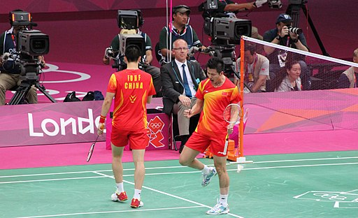 Best men`s doubles pair ever in badminton - Cai Yun and Fu Haifeng