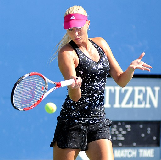 Hottest female tennis player ever Kristina Mladenovic