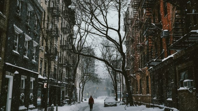 Greenwich Village in Winter